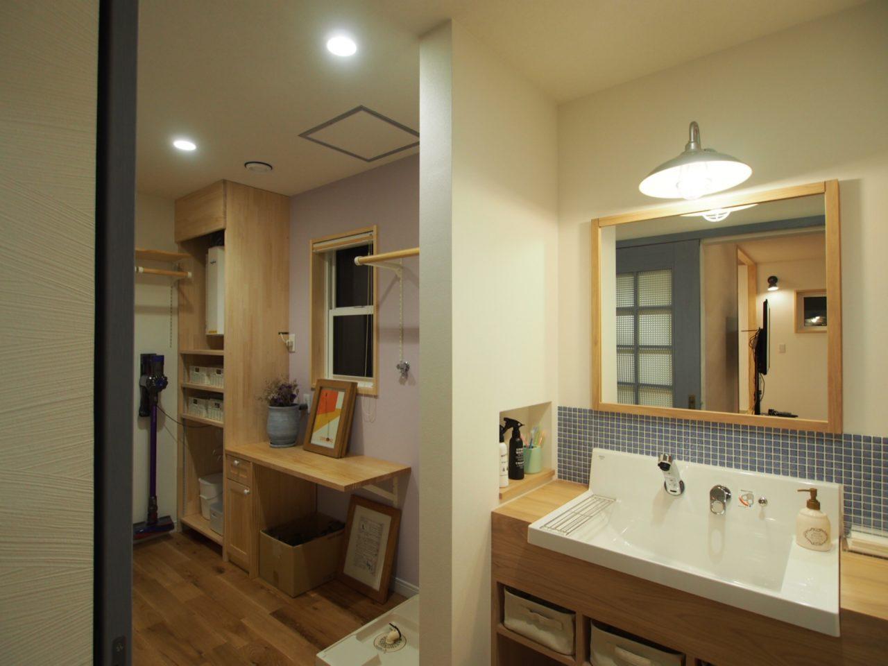 鈴木建築 洗面スペース