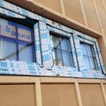 北名古屋市モデルルーム兼自宅の進捗状況!窓と断熱材が貼られました