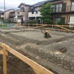雨楽な家進捗 基礎工事start