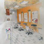美容室のプチリフォーム