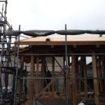 北名古屋市で雨楽な家の建前でした!2