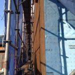 北名古屋市で家づくり外断熱材施工中