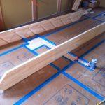 北名古屋市で家づくり階段作成中
