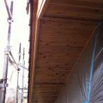 北名古屋市で家づくり外部木部塗装