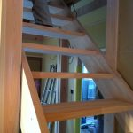 北名古屋市で家づくりストリップ階段