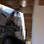 北名古屋市で家づくり木部塗装編