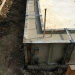 北名古屋市で新築一戸建てコンクリート打設中